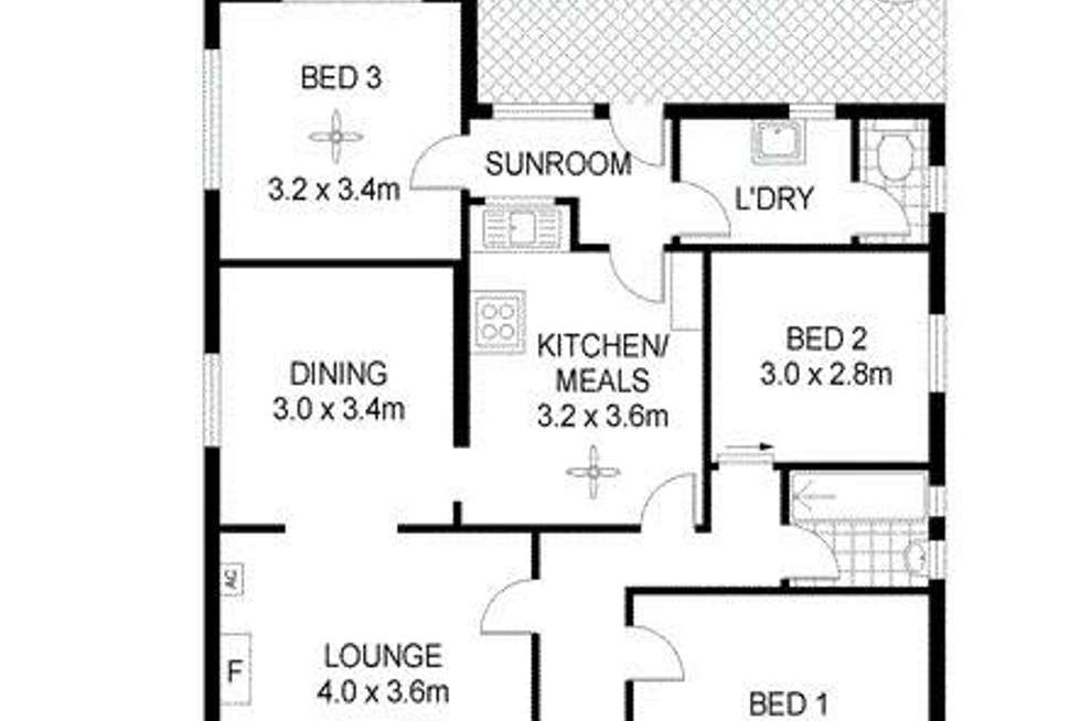Floorplan of Homely house listing, 149 Third Avenue, Royston Park SA 5070