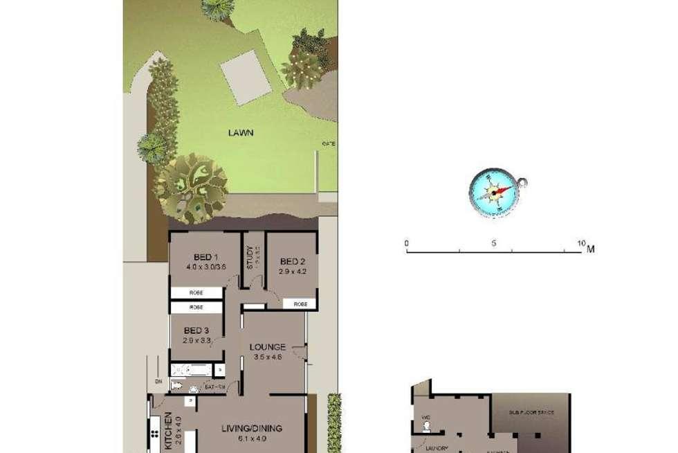 Floorplan of Homely house listing, 103 Clontarf Street, Seaforth NSW 2092
