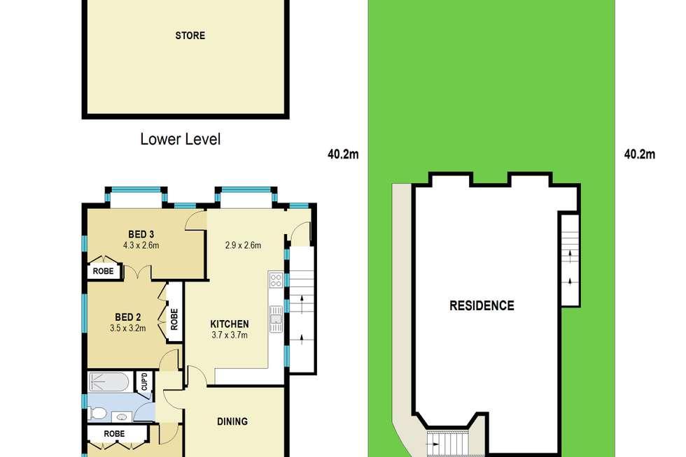 Floorplan of Homely house listing, 77 Davidson Street, Newmarket QLD 4051