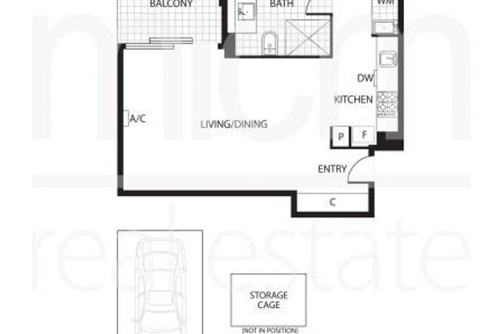 Floorplan of Homely apartment listing, 308/200 Toorak Road, South Yarra VIC 3141