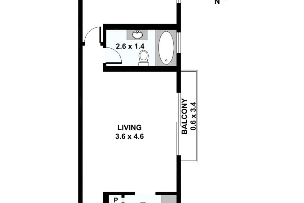 Floorplan of Homely apartment listing, 9/6 Marne Street, Vaucluse NSW 2030