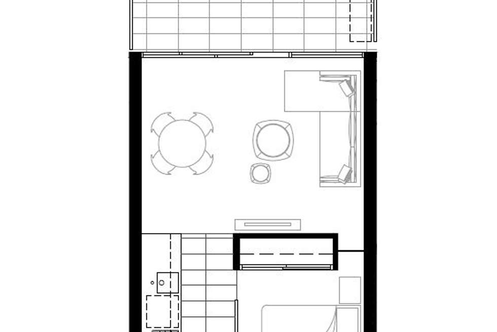 Floorplan of Homely apartment listing, 1315/39 Coventry Street, Southbank VIC 3006