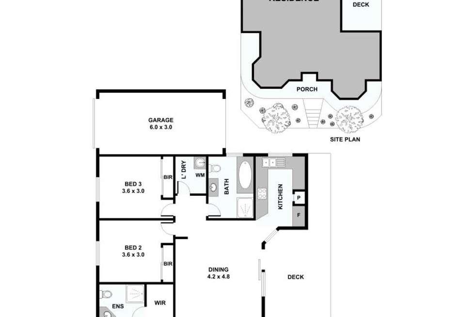 Floorplan of Homely house listing, 14 Zoe Circuit, Northcote VIC 3070