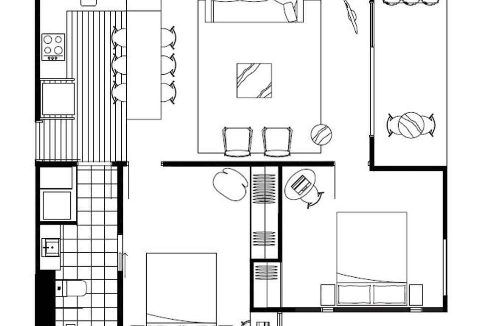 Floorplan of Homely apartment listing, 106/3 Duggan Street, Brunswick West VIC 3055