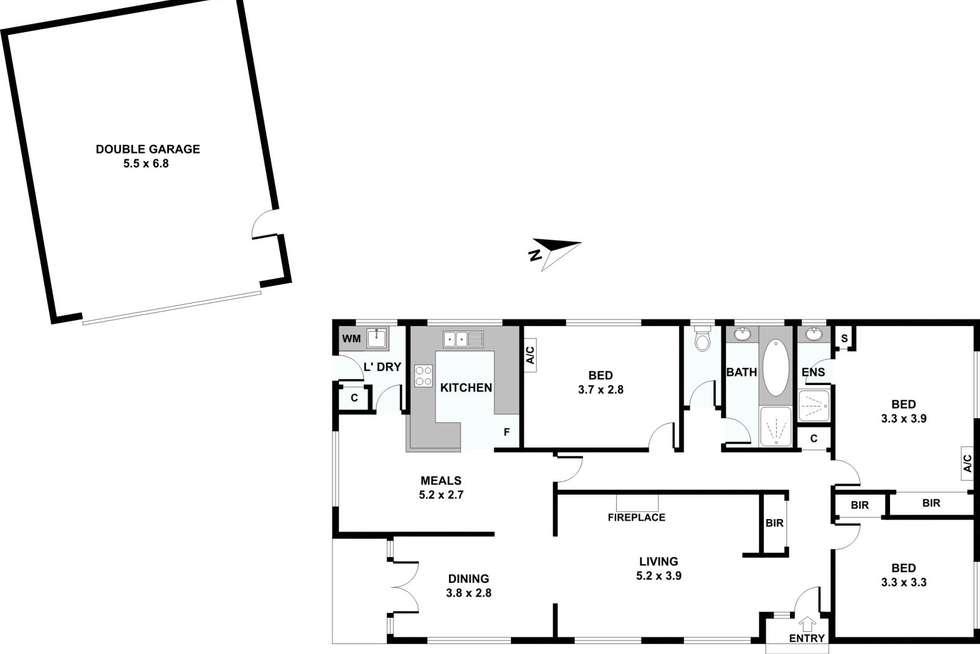 Floorplan of Homely house listing, 7 Bellbird Drive, Wantirna VIC 3152