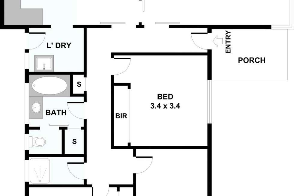 Floorplan of Homely unit listing, 1/21 Munro Ave, Mount Waverley VIC 3149