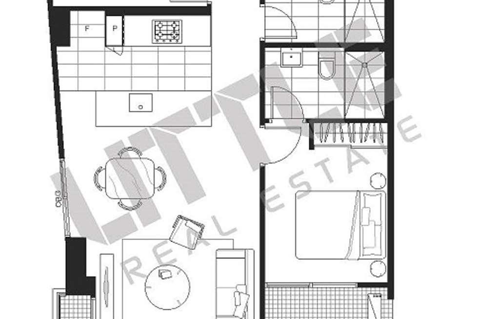 Floorplan of Homely apartment listing, 1901/3 Yarra Street, South Yarra VIC 3141