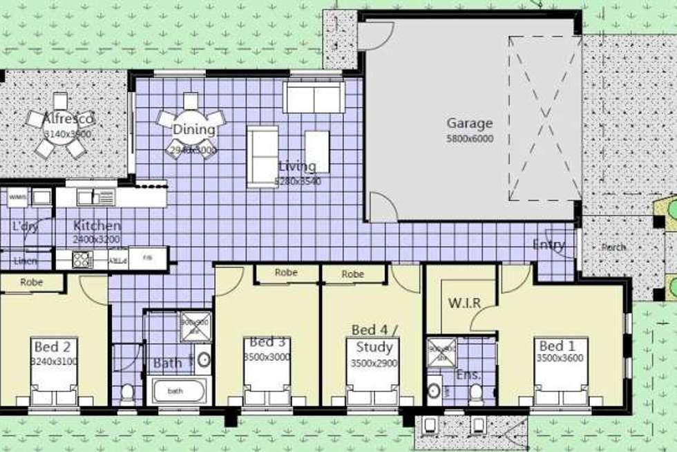 Floorplan of Homely house listing, 25 Ashford Drive, Pakenham VIC 3810