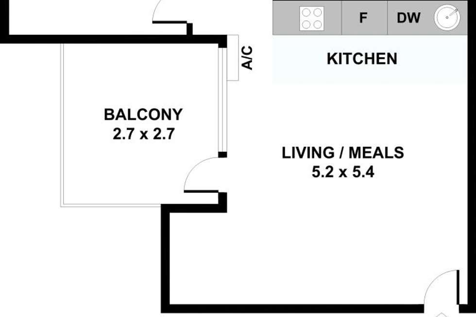 Floorplan of Homely apartment listing, 8/10 Schild Street, Yarraville VIC 3013