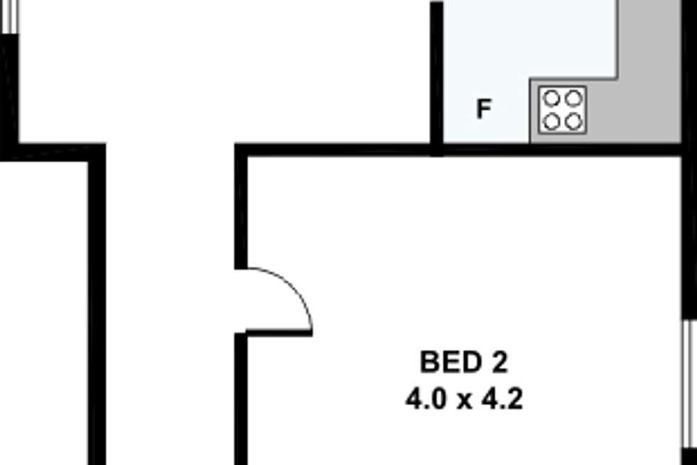 Floorplan of Homely house listing, 6 Peers Street, Richmond VIC 3121