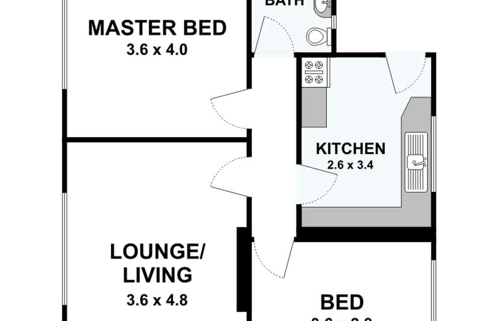 Floorplan of Homely apartment listing, 7/3 Stillman Street, Richmond VIC 3121