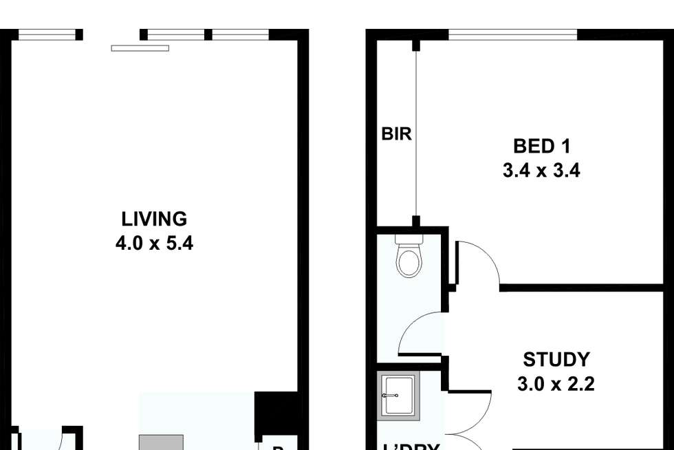 Floorplan of Homely townhouse listing, 7 Demmie Mews, Lyndhurst VIC 3975