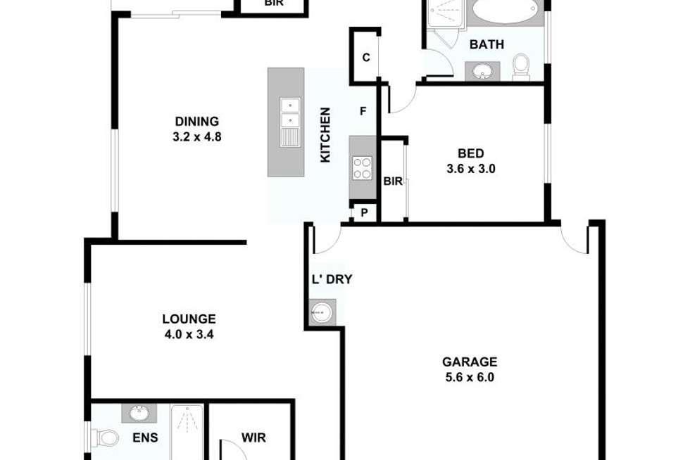 Floorplan of Homely house listing, 39 Southwood Circuit, Yarrabilba QLD 4207