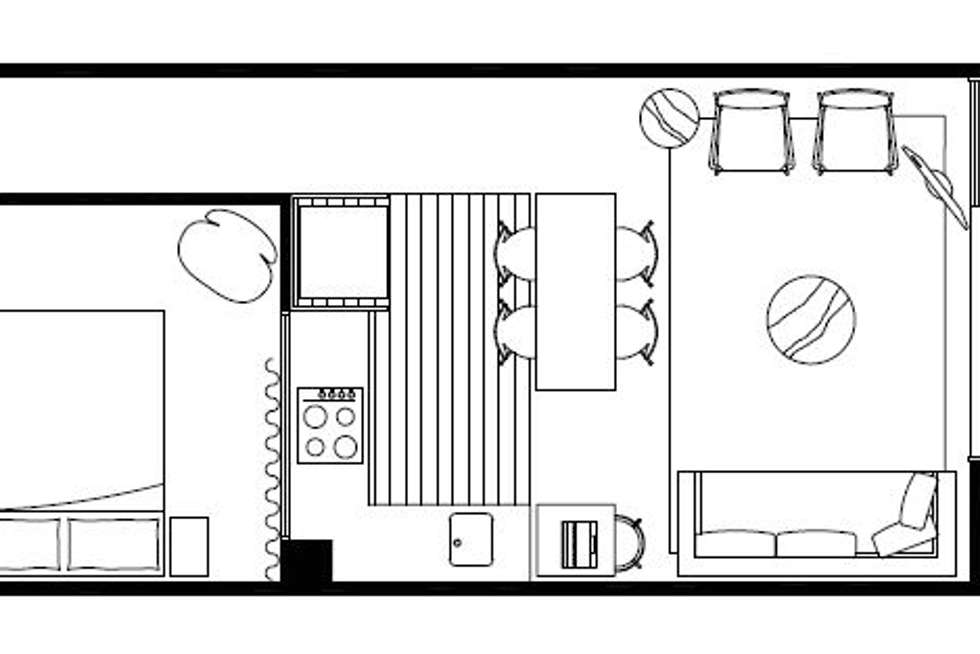 Floorplan of Homely apartment listing, G13/3 Duggan Street, Brunswick West VIC 3055