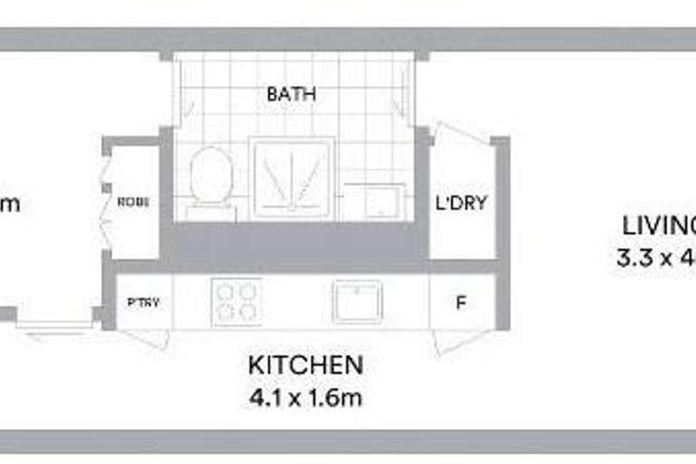 Floorplan of Homely apartment listing, 606/65 Coventry Street, Southbank VIC 3006