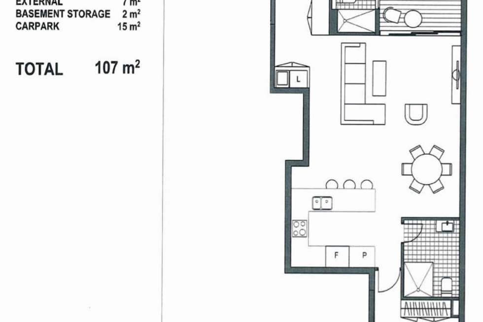 Floorplan of Homely apartment listing, 206/128 Military Rd, Neutral Bay NSW 2089