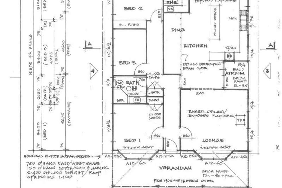 Floorplan of Homely house listing, 50 Buckley St, Denmark WA 6333