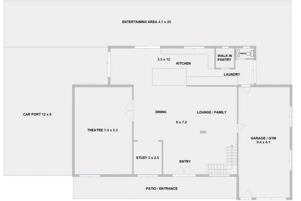 Floorplan of Homely house listing, 272 Worongary Road, Worongary QLD 4213