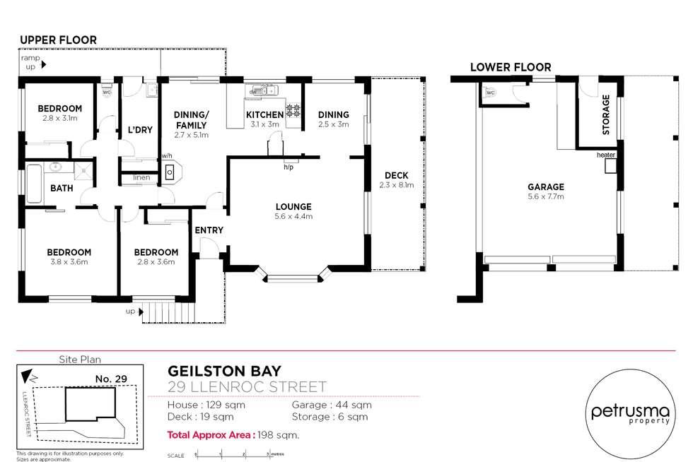 Floorplan of Homely house listing, 29 Llenroc Street, Geilston Bay TAS 7015