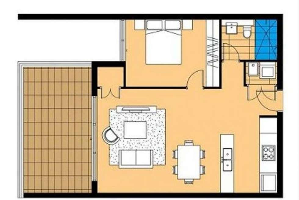 Floorplan of Homely apartment listing, 54/44-52 Kent Street, Epping NSW 2121