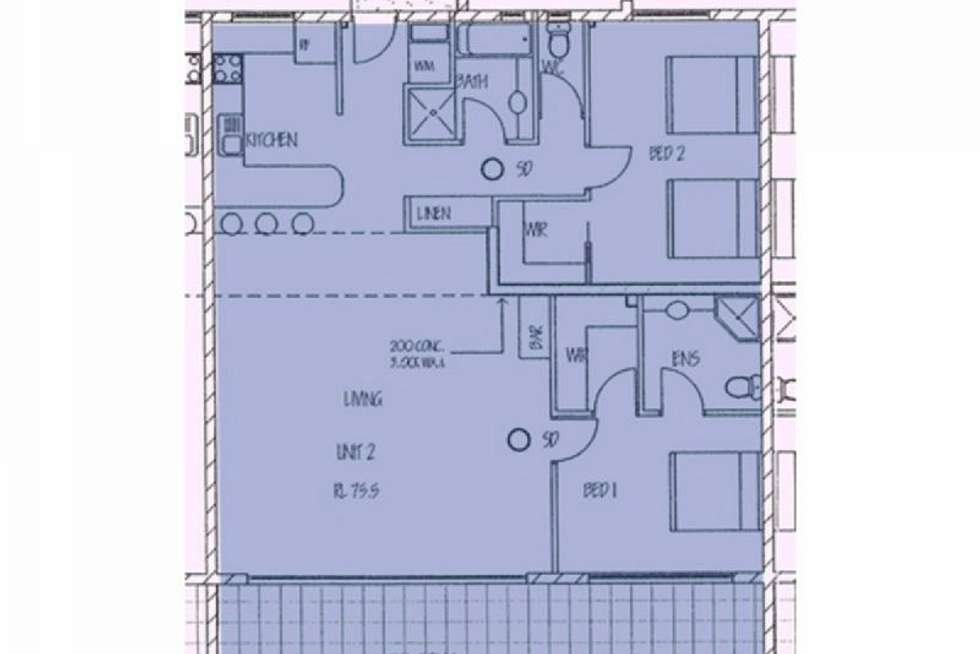 Floorplan of Homely apartment listing, Bluewater Views 2/2 Banksia Court, Hamilton Island QLD 4803