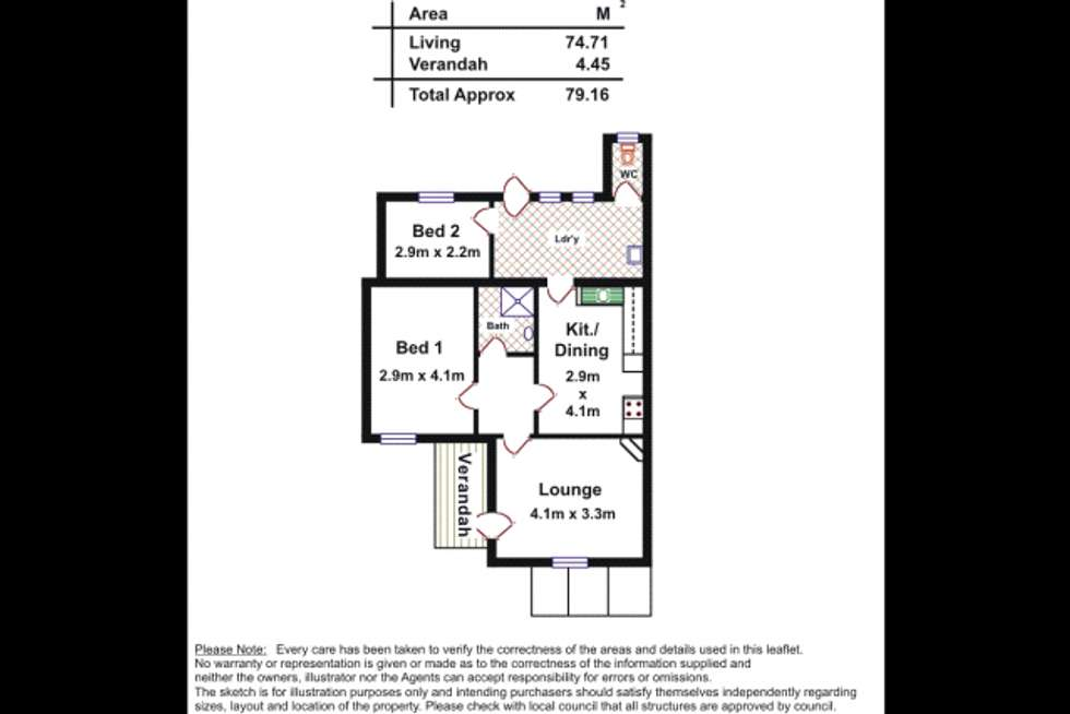 Floorplan of Homely other listing, 153 Torrens Road, Ridleyton SA 5008