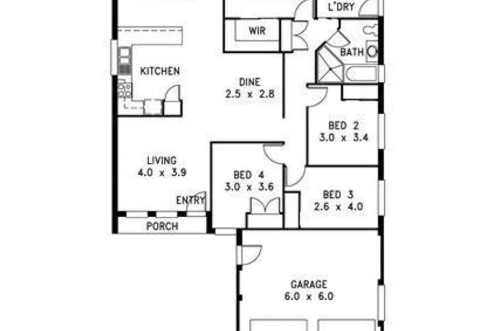 Floorplan of Homely house listing, 87 Kindlebark Drive, Medowie NSW 2318