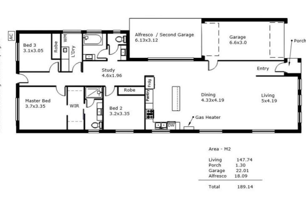 Floorplan of Homely house listing, 1A Vine TCE, Klemzig SA 5087