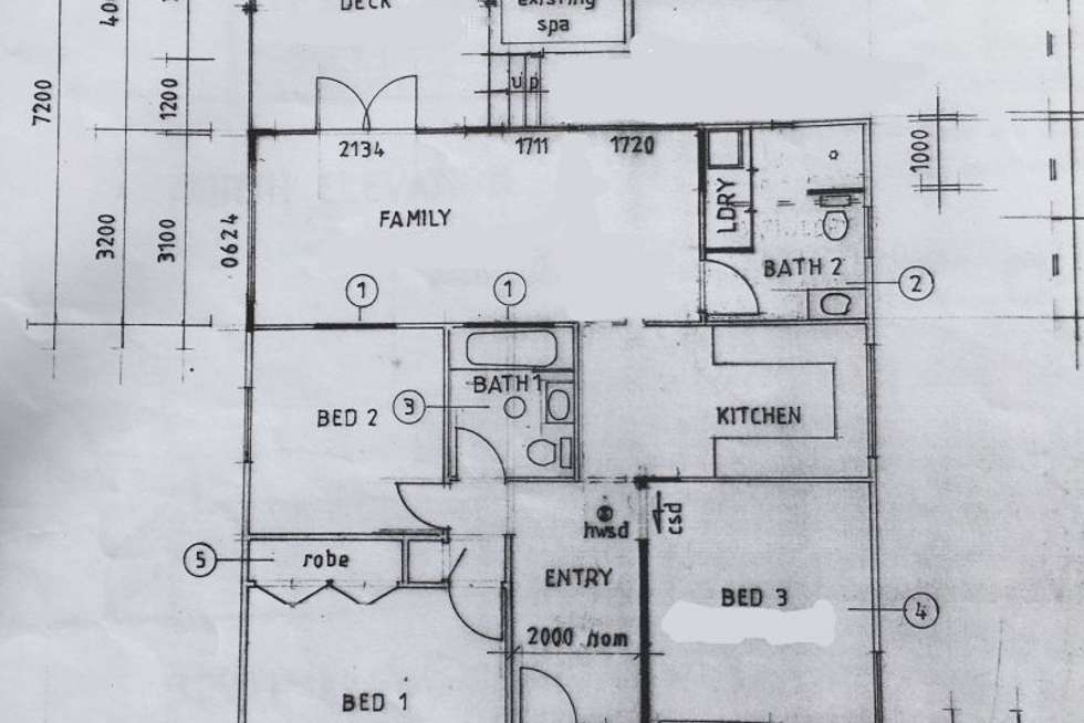 Floorplan of Homely house listing, 75 Waratah Ave, Charlestown NSW 2290
