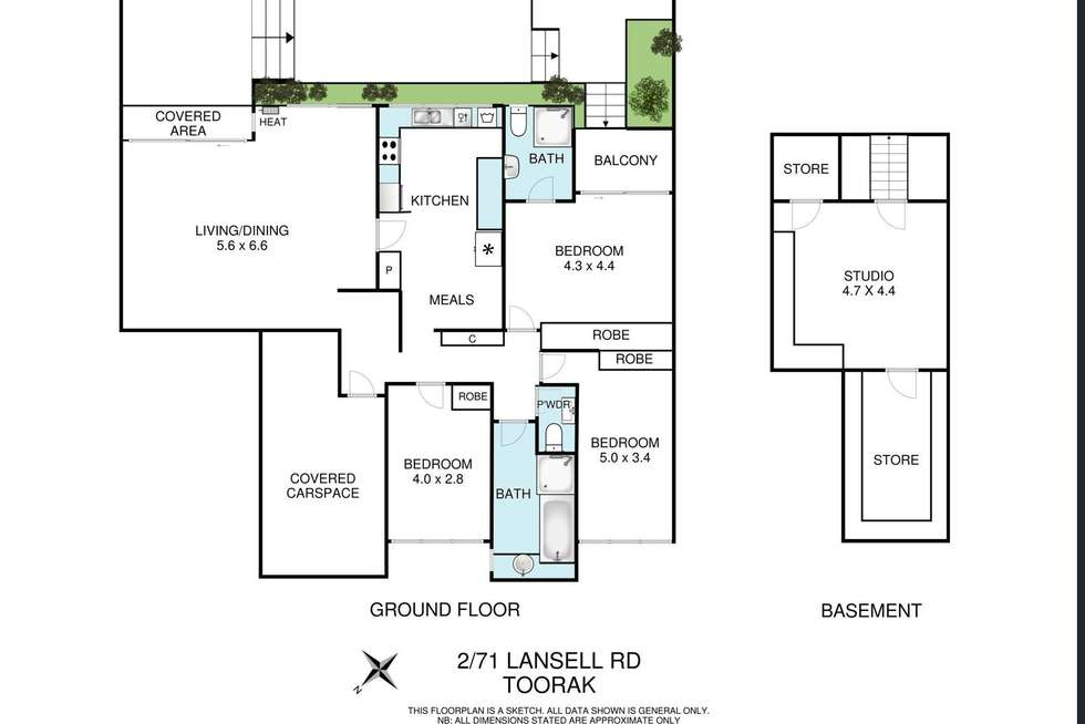 Floorplan of Homely apartment listing, 2/71 Lansell Road, Toorak VIC 3142