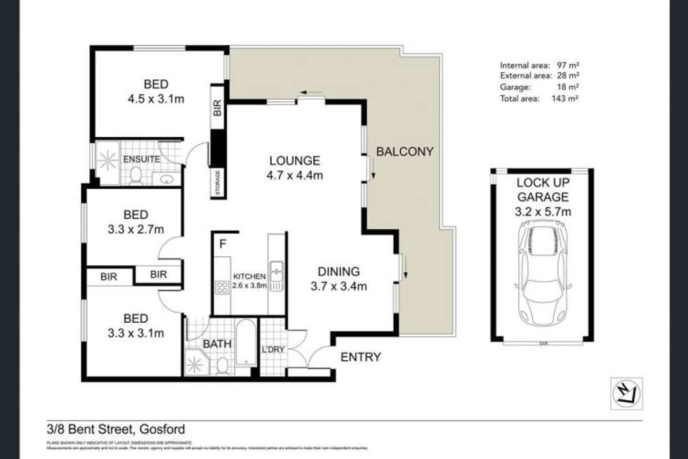 Floorplan of Homely apartment listing, Address available on request