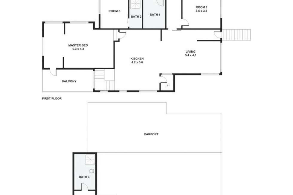 Floorplan of Homely house listing, 38 Oxley Station Road, Oxley QLD 4075