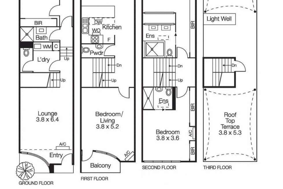 Floorplan of Homely house listing, 35a Park Street, South Melbourne VIC 3205