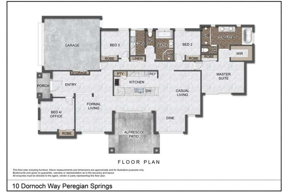 Floorplan of Homely house listing, 10 Dornoch Way, Peregian Springs QLD 4573