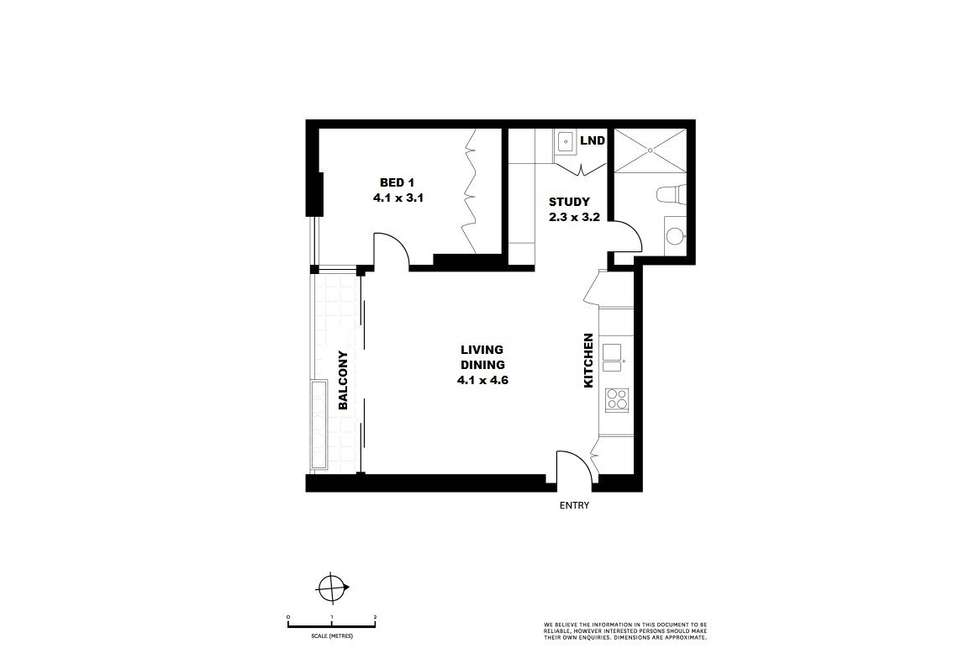 Floorplan of Homely apartment listing, 206/37 Bayswater Road, Potts Point NSW 2011