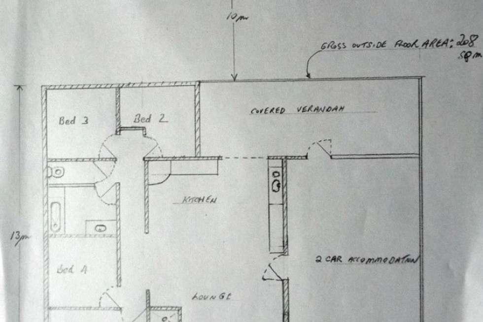 Floorplan of Homely house listing, 160 Loridan Drive, Brinsmead QLD 4870