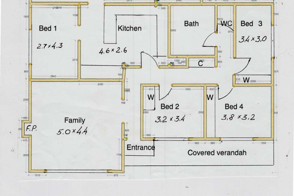 Floorplan of Homely house listing, 667 Nepean Hwy, Frankston South VIC 3199