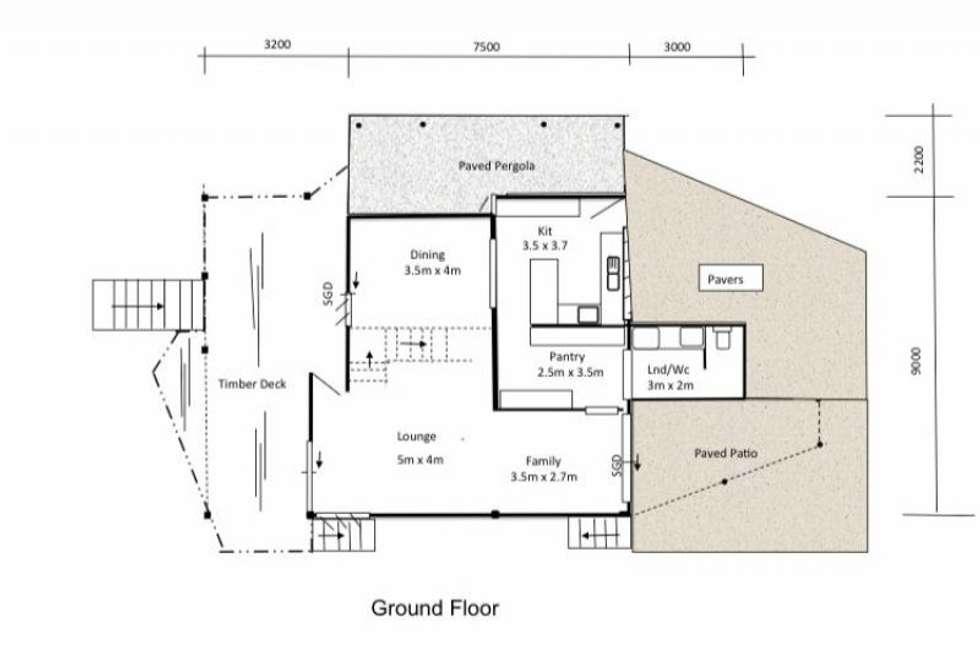 Floorplan of Homely house listing, 196 Denham Street, North Ward QLD 4810