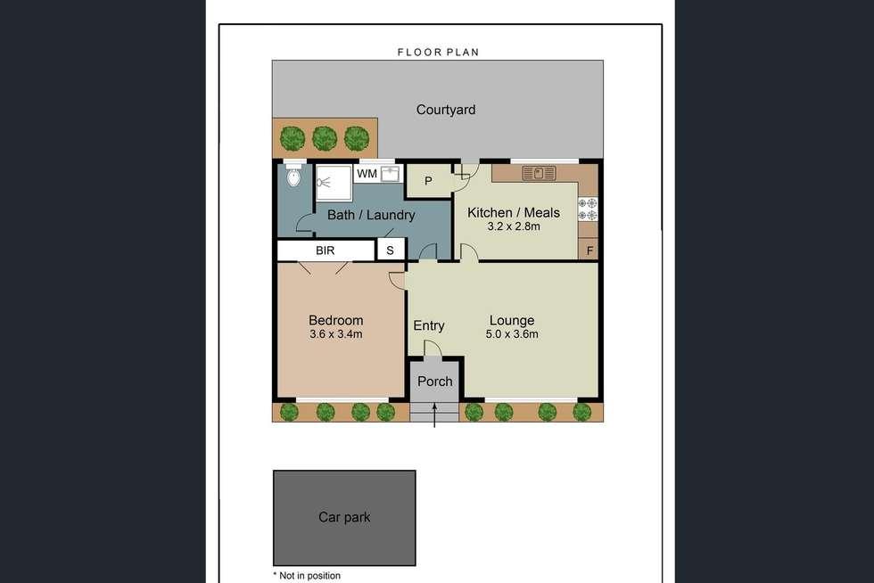 Floorplan of Homely villa listing, 5/165 Edwardes Street, Reservoir VIC 3073