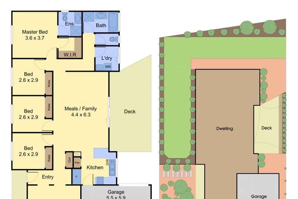 Floorplan of Homely house listing, 1 Swamp Gum Close, Pakenham VIC 3810