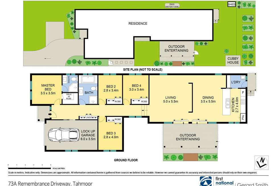 Floorplan of Homely house listing, 73a Remembrance Drive, Tahmoor NSW 2573