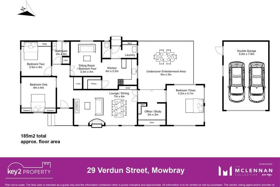 Floorplan of Homely house listing, 29 Verdun Street, Mowbray TAS 7248