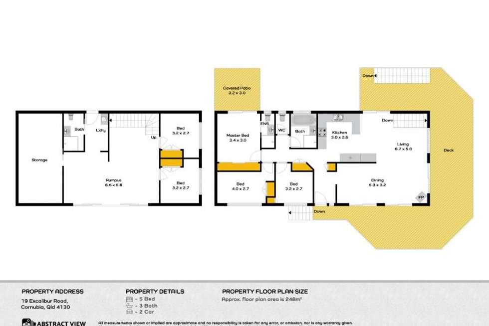 Floorplan of Homely house listing, 19 Excalibur Road, Cornubia QLD 4130