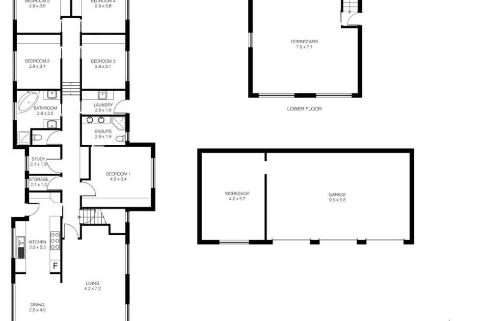 Floorplan of Homely house listing, 489 West Tamar Road, Riverside TAS 7250