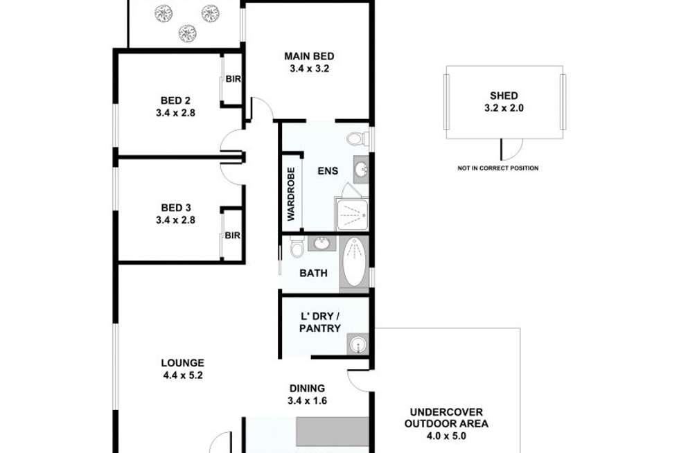 Floorplan of Homely house listing, 9 Miskin Street, Nerang QLD 4211