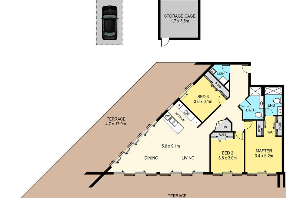 Floorplan of Homely unit listing, 26/2-4 Newhaven Place, St Ives NSW 2075