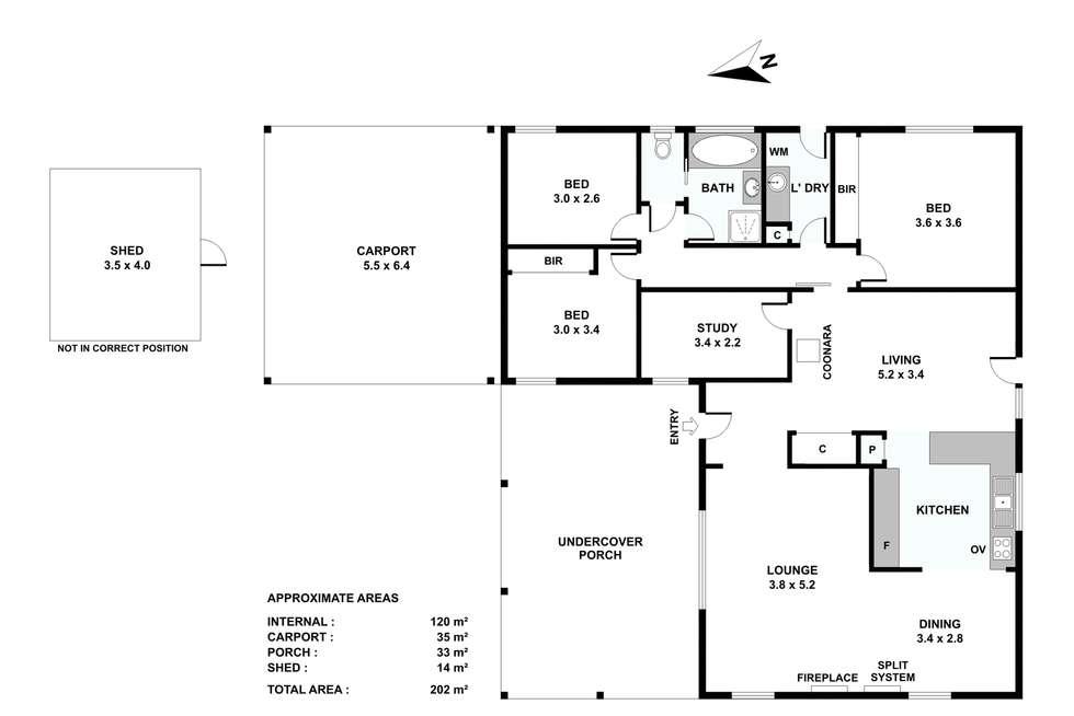 Floorplan of Homely house listing, 4 Couzens Lane, Romsey VIC 3434