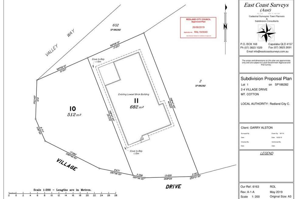 Floorplan of Homely residentialLand listing, 2 Village Drive, Mount Cotton QLD 4165