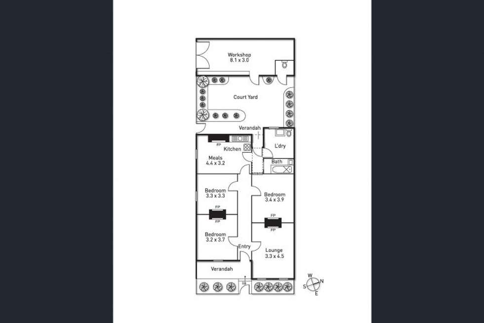 Floorplan of Homely house listing, 26 Thomas Street, Richmond VIC 3121