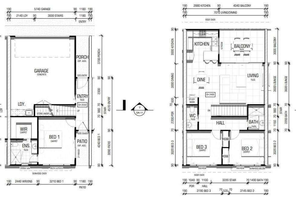 Floorplan of Homely townhouse listing, 2/111 Parker St, Maroochydore QLD 4558